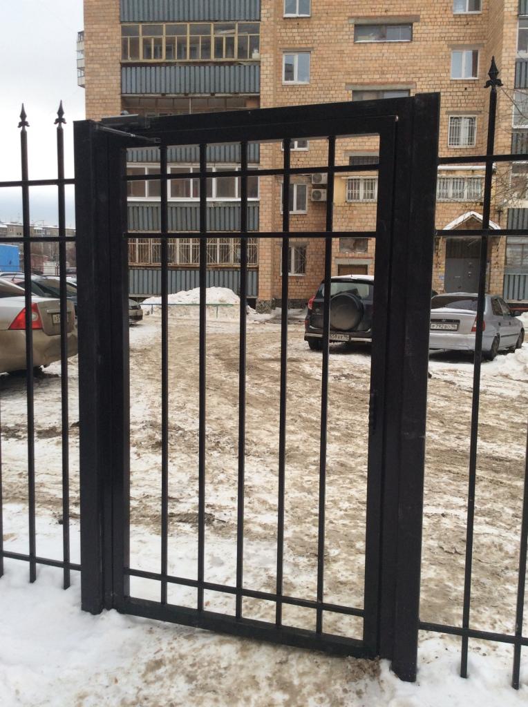 монтаж калиток металлических в Екатеринбурге