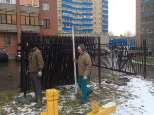 ограждение придомовой территории в екатеринбурге
